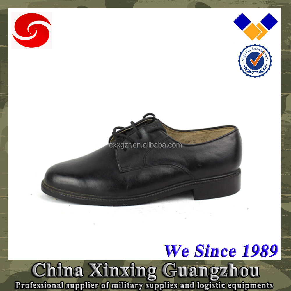 Indian cowhide Leather army safety officer shoes