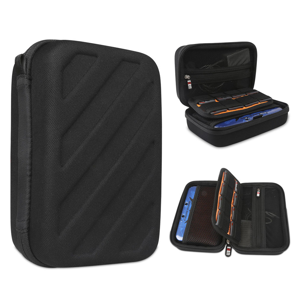 EVA Tool <strong>Hard</strong> Shell Zipper <strong>Case</strong> for Nintendo 3DS LL/3DS XL Console Accessories