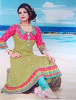 Salwaar Kameez for Ladies (SS041): 100% cotton with quality stitching & finishing