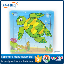 Turtle Wooden Puzzle Educational Toys