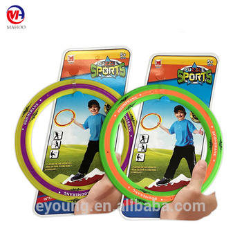 Fashionable plastic flying ring