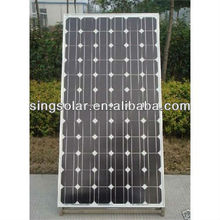 High efficiency 3w to 290w solar panel with frame and MC4 connector