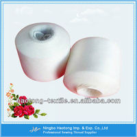 Raw White High Tenacity Polyester Filament Yarn & Embroidery Thread 100% Polyester Yarn