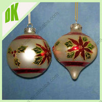 2015 christmas ornaments Christmas glass ball with angel inside