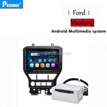 Penhui Android 4.4 quad core <strong>Car</strong> <strong>DVD</strong> For Mustang 2015 CPU 1.6G HZ ROM 16G RAM 1G Voice control