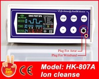 2015 Newly Hot Sale Single Ion Ionic Foot Bath Spa Detox Foot Machine HK-807A With Far Infrared Belt