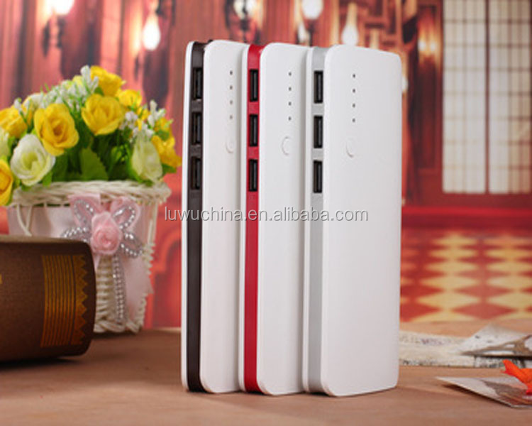 wholesale slim colorful powerbank charger portable power bank 10000mah