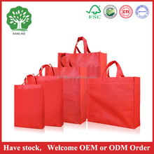 2016 Trade Assurance Supplier Custom colorful art non woven package gift bag / gift shopping bag chinese style