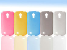 Wholesale made of soft silicone mobile phone shell Fast delivery for samsung galaxy s4 mini i9190