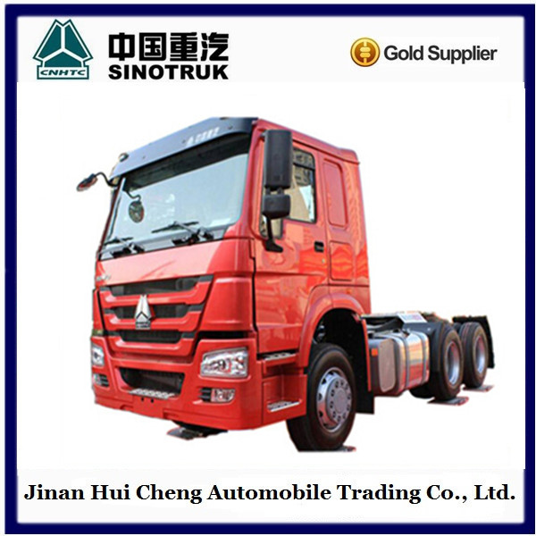 Howo 371HP Tractor Truck with JOST saddle SALE