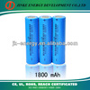 18650 li-ion rechargeable battery aa lithium battery 1800mah protected