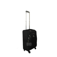 upright soft side polyester trolley pilot case