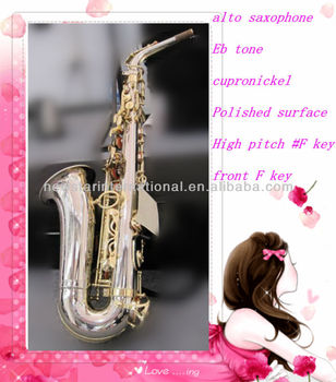 polished surface alto saxophone hsl-1006