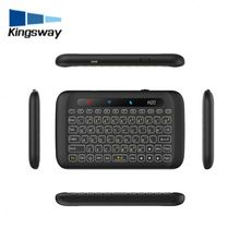 Mini Wireless Backlit Keyboard H20 2.4 Ghz Usb Touchpad Keyboard Air Mouse Remote Control For Hd Device Android Tv Box Tablet Pc