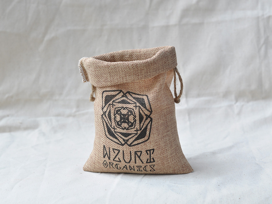 Mini Burlap Coffee Bags small drawstring burlap bag Wholesale