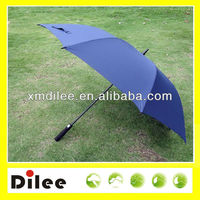 windproof fiberglass Auto open promotional men's umbrella
