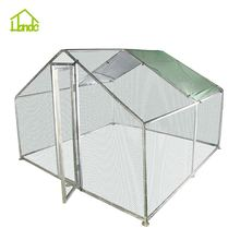 Chicken Coop With Hexagonal Wire Netting