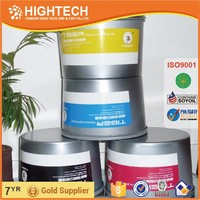 high gloss dry fast non-skinning vivid 4 color printing offset ink supplier