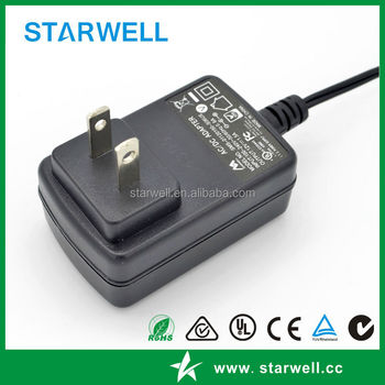 12V 1A 60601 medical power adaptor with UL CE certificates for medical device