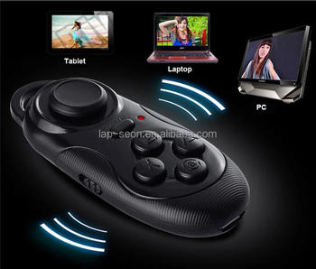 4 in 1 Smart Mini Bluetooth Remote Gamepad/Selfie Remote Shutter/Player Controller/ Wireless Mouse for Phone iPad PC