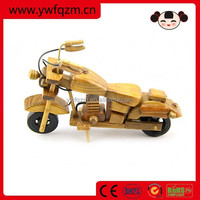 Home Decoration Wooden Crafts Motorcycle Toys