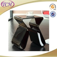 China Professional luxury food touch decorative acrylic hand carved furniture