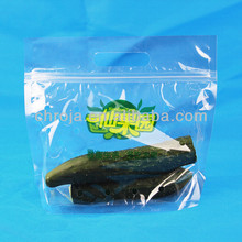 Food safe and water barrier cucumber packaging bags