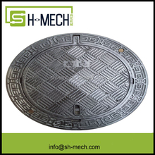 OEM Round Ductile Cast Iron Manhole Cover for sale