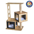 Aimigou Hot selling good quality wooden cat tree,cat scratch with toys