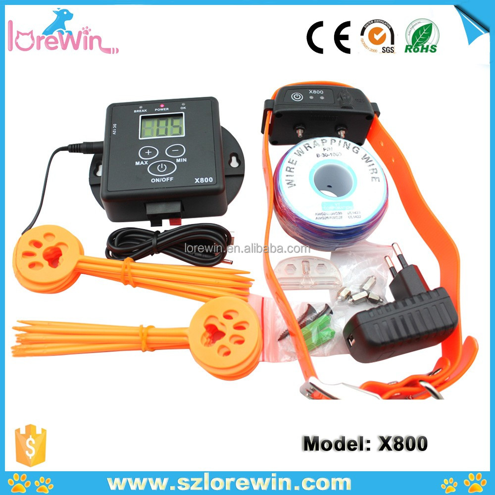Stop Barking Dog Collar Training Collar Electric Dog No Barking E Collar System Rechargeable Shock Control X800