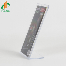 L Shape acrylic office sign free upright standing