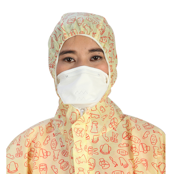 Nonwoven respirator mouth mask anti dust face mask