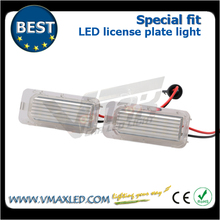 special fit car led accessories 12V super white led license plate lights motorcycle for FORD Mondeo IV F 5D F 2010