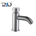 Zhejiang Manufacturer Durable Solid Brass Push Button Water Save Time Delay Basin Faucet