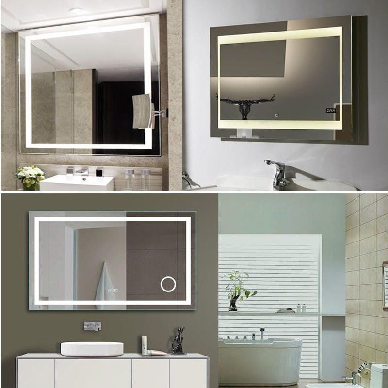 Modern Bath Mirror With Lights