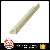 Strict Quality Control Aluminum L Shape Tile Trim For Corner Edge