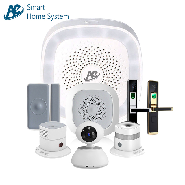 domotic system home automation system wireless smart house system