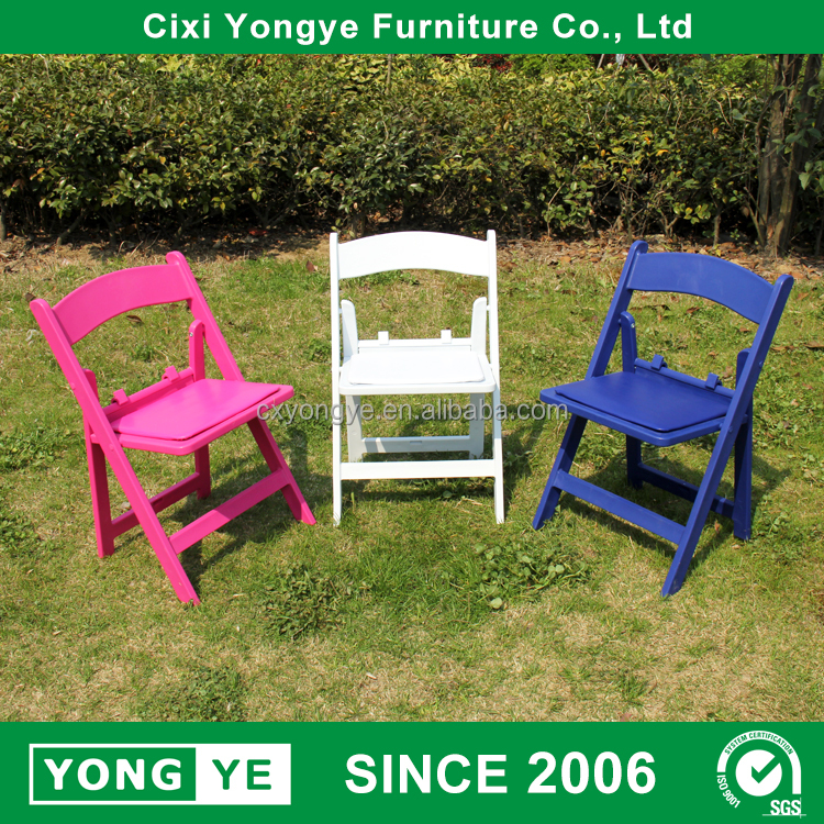 Gold supplier child resin folding chairs for party rent