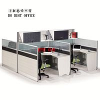 plastic design decorative partition office cubicle partition(T3+T8-series) WL8302