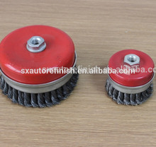 Abrasive Wire Brush Rust Removal Wire Wheel
