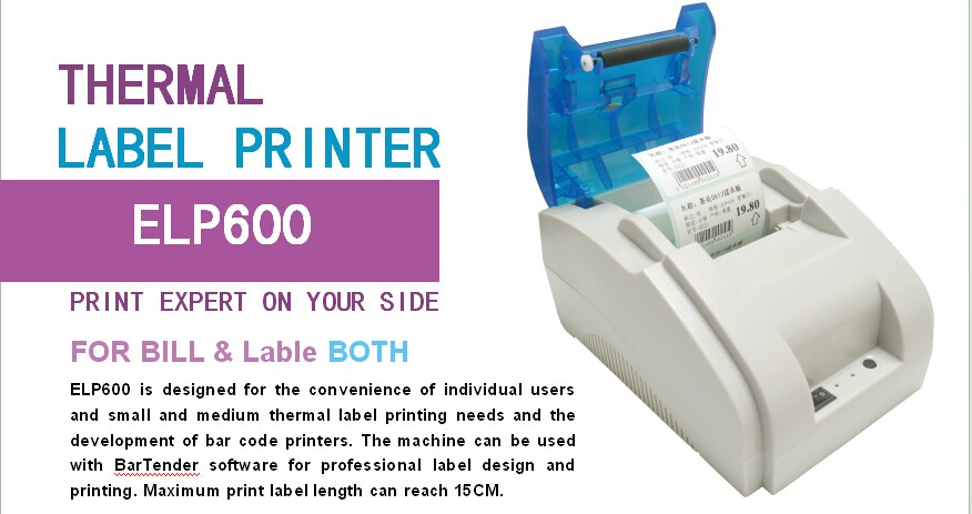 Convenient Thermal Label Printer for Individual Users