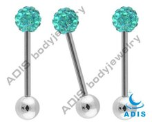 New Design Tongue Piercing Jewelry,Fashion Tongue Barbell