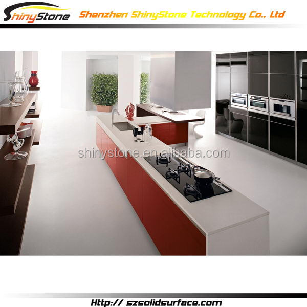 Masterpiece hotel project artificial marble modern ideas for kitchen cabinets