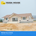 low cost modern water economical light steel structure prefabricated homes luxury prefab villa