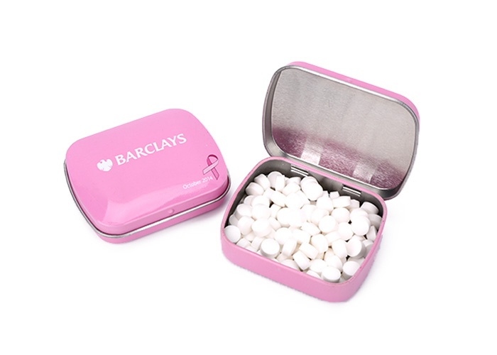 Professional mint sugar free tin box for wholesales
