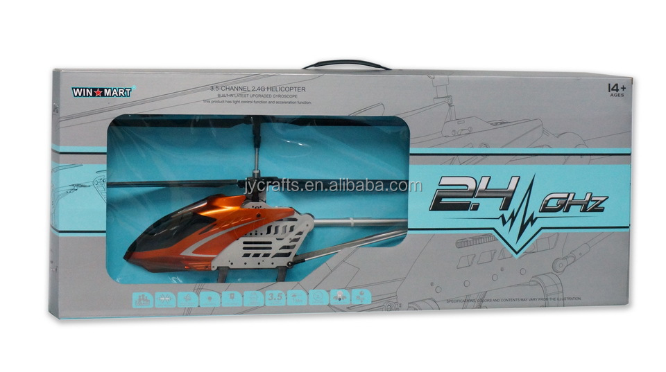 WM-F3D199 2.4G large 3.5ch hobby rc helicopter for adult