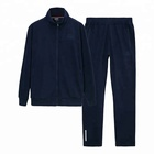 Promotional various new china tracksuit set men sport suit model factory