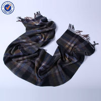 Grey Color Men's Business Party scarf scottish cashmere scarf SWC756 italian cashmere scarf wholesale