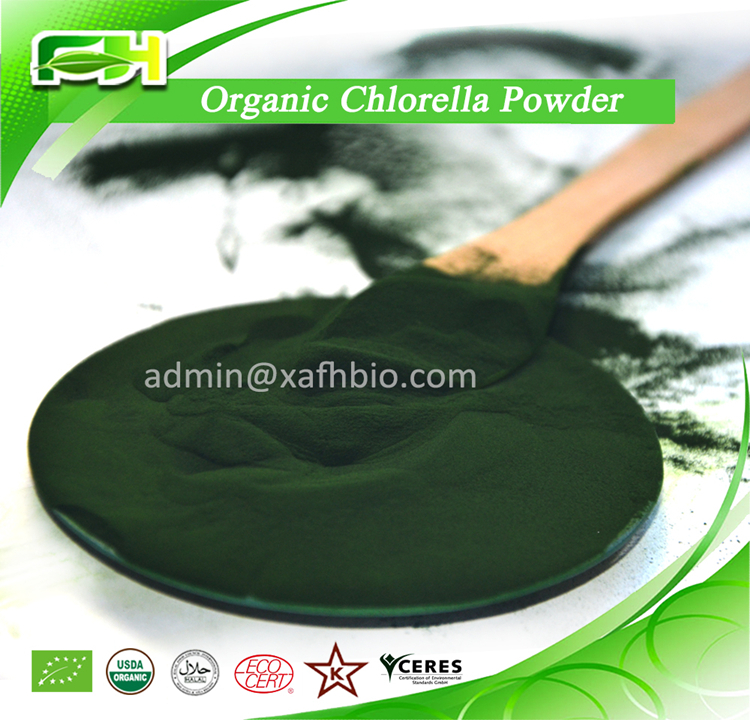 2016 New Certified Organic Chlorella Tablets