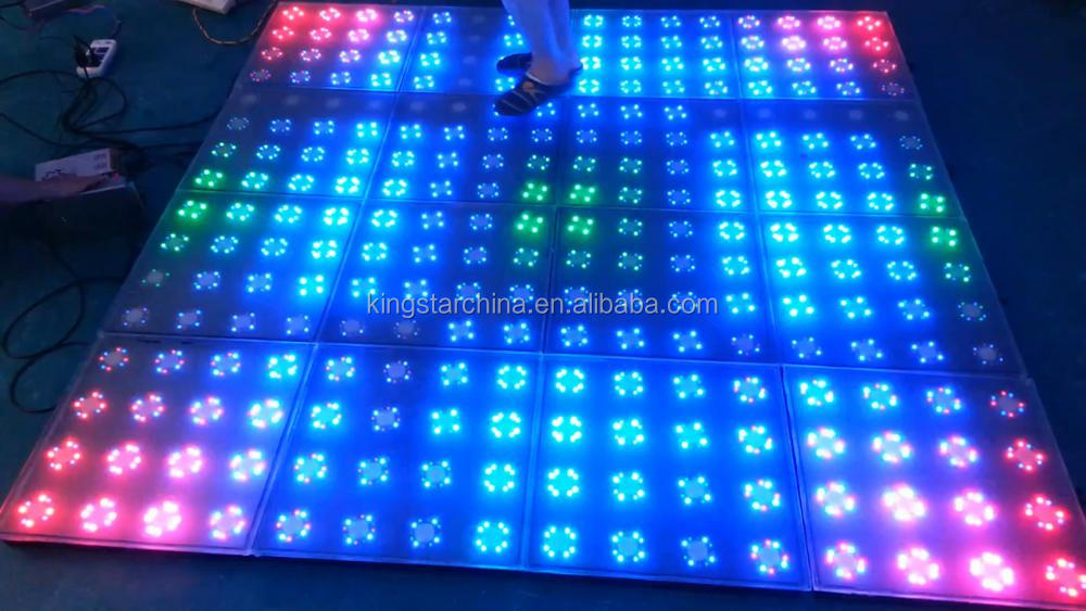 P8.9mm factory price light weight interactive led dance floor for club, show ,car exhibition with CE certification